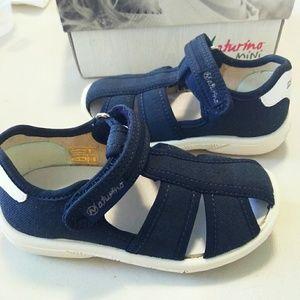 Naturino kids boy sandals (navy)